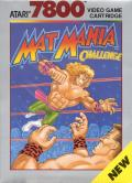 Mat Mania Challenge Atari 7800 Front Cover