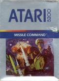 Missile Command Atari 5200 Front Cover