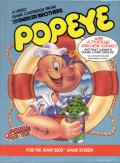 Popeye Atari 5200 Front Cover