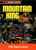 Mountain King Atari 5200 Front Cover