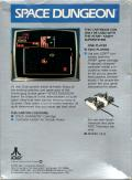 Space Dungeon Atari 5200 Back Cover