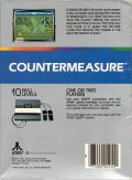 Countermeasure Atari 5200 Back Cover