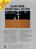 One-on-One Atari 7800 Back Cover