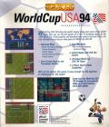 World Cup USA 94 DOS Back Cover