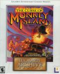 The Curse of Monkey Island (Includes Secret of Monkey Island and Monkey Island 2: LeChuck's Revenge) DOS Front Cover