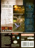 Hunter: The Reckoning GameCube Back Cover