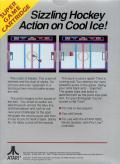 Hat Trick Atari 7800 Back Cover