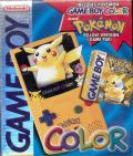 Pokémon Yellow Version: Special Pikachu Edition Game Boy Front Cover