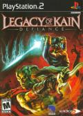 Legacy of Kain: Defiance PlayStation 2 Front Cover
