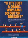 The Activision Decathlon Atari 5200 Back Cover