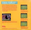 Touchdown Football Commodore 64 Back Cover