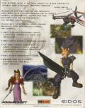 Final Fantasy VII Windows Back Cover