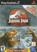 Jurassic Park: Operation Genesis PlayStation 2 Front Cover
