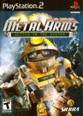 Metal Arms: Glitch in the System PlayStation 2 Front Cover