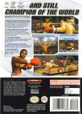 Knockout Kings 2003 GameCube Back Cover