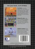 DEcapAttack Genesis Back Cover