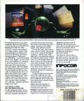 The Hitchhiker's Guide to the Galaxy Apple II Back Cover