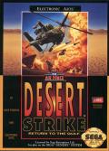 Desert Strike: Return to the Gulf Genesis Front Cover