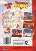 Dynamite Headdy Genesis Back Cover