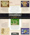 Shanghai: Dynasty Macintosh Back Cover