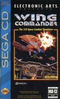 Wing Commander SEGA CD Front Cover