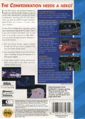 Wing Commander SEGA CD Back Cover