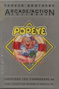 Popeye Commodore 64 Front Cover