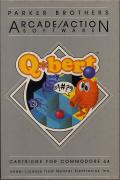 Q*bert Commodore 64 Front Cover
