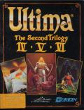 Ultima: The Second Trilogy Commodore 64 Front Cover