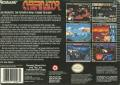 Cybernator SNES Back Cover