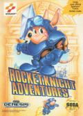 Rocket Knight Adventures Genesis Front Cover
