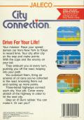 City Connection NES Back Cover