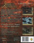 Siege of Avalon Windows Back Cover