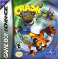 Crash Bandicoot 2: N-Tranced Game Boy Advance Front Cover
