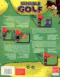 Sensible Golf DOS Back Cover