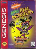 Nickelodeon: Aaahh!!! Real Monsters Genesis Front Cover