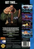 Battlecorps SEGA CD Back Cover
