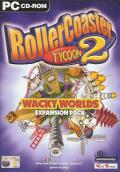 RollerCoaster Tycoon 2: Wacky Worlds Windows Front Cover