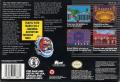 Mario's Time Machine SNES Back Cover