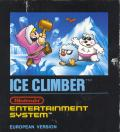 Ice Climber NES Front Cover