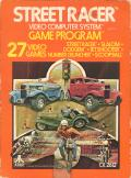 Street Racer Atari 2600 Front Cover