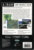 A-Train PlayStation Back Cover