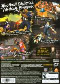 NFL Street PlayStation 2 Back Cover