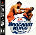 Knockout Kings 2001 PlayStation Front Cover