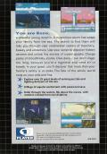 Ecco the Dolphin Genesis Back Cover
