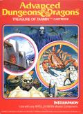 Advanced Dungeons & Dragons: Treasure of Tarmin Cartridge Intellivision Front Cover