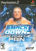 WWE Smackdown! Here Comes the Pain PlayStation 2 Front Cover