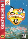 Animaniacs Genesis Front Cover