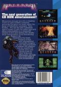 Microcosm SEGA CD Back Cover