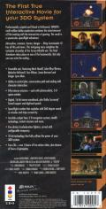 Wing Commander III: Heart of the Tiger 3DO Back Cover